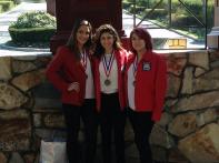 Rebecca Devine 3rd place Junior NHS Brittani Ortiz 1st Place Senior CHS Amanda Mezzich 2nd Place Senior CHS